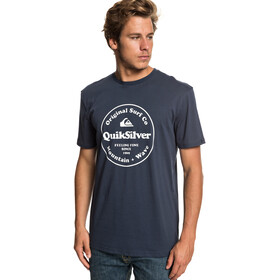Quiksilver Secret Ingredient T-shirt Heren, blue nights